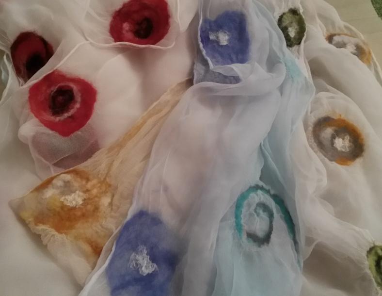0115 6 chiffon scarves