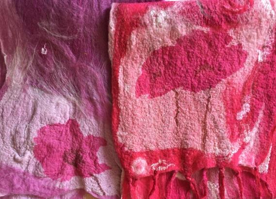 04 pink scarves
