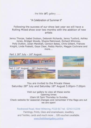 ww summer exhibition