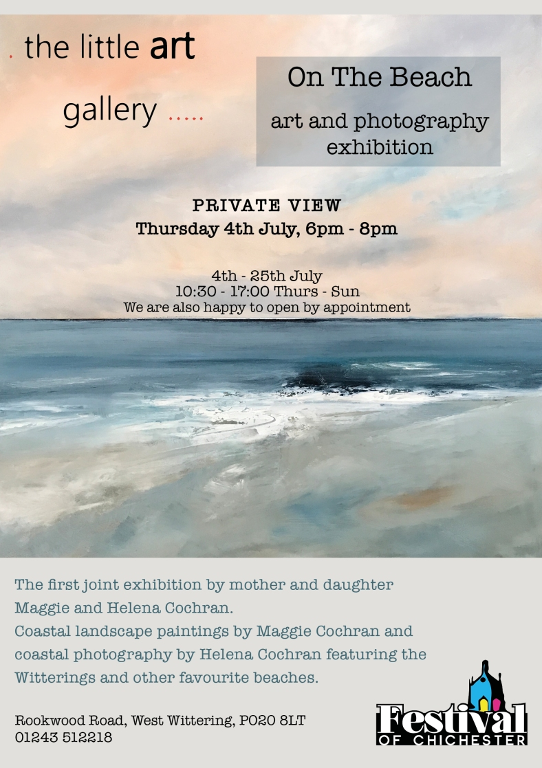 On the Beach promotional leaflet with Private View