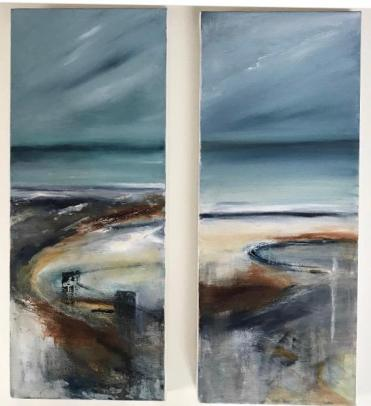 'The Retreating Tide' and 'Whisper of Wind'